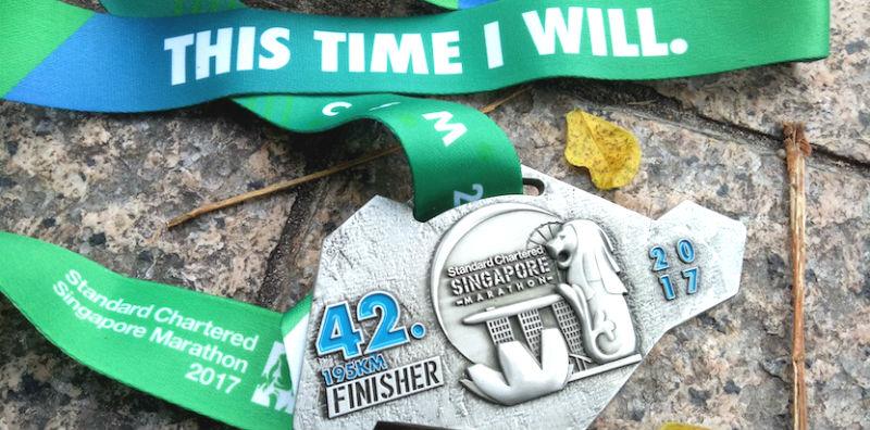 Standard Chartered Singapore Marathon 2017 (42.195KM)