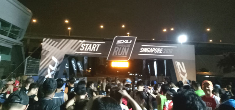 2XU Compression Run 2018 (Half Marathon)