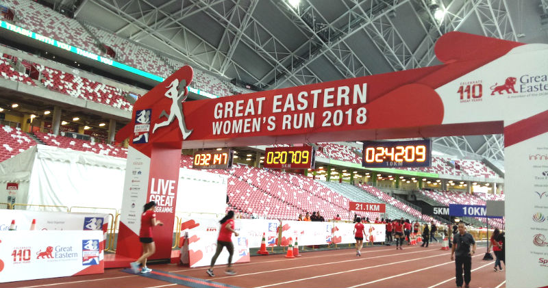 Great Eastern Women's Run 2018 (21.1KM)